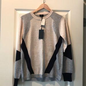FATE Color Block Sweater - NWT